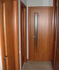 Отделка межкомнатных дверей