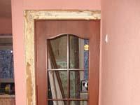 Замена межкомнатных дверей