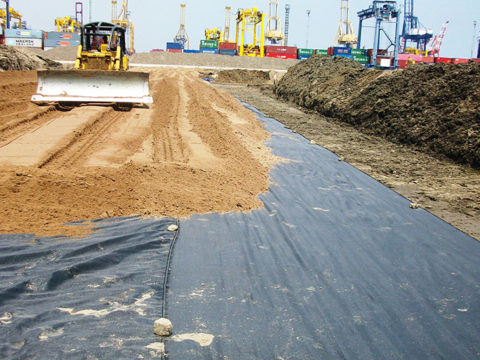 Применение геотекстиля в строительстве