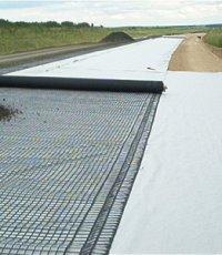 Дорожное строительство с применением геотекстиля