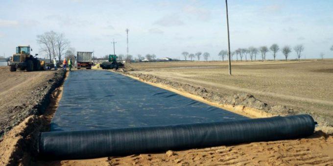 Дорожный геотекстиль – современный материал
