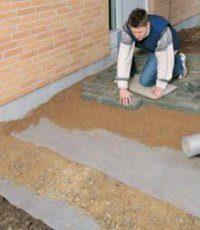 Геотекстиль для песка