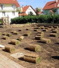 Как правильно уложить геотекстиль для газона?