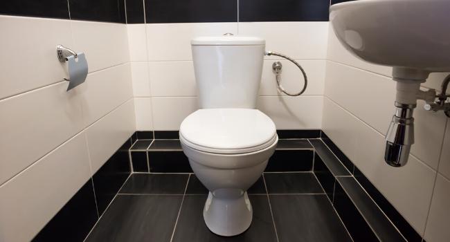Классическое оформление туалета