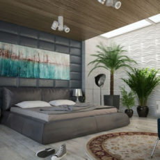 Современная отделка стен в квартире: виды, материалы, варианты, решения