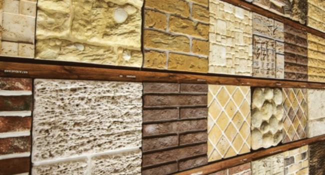 отделка стен плиткой или камнем