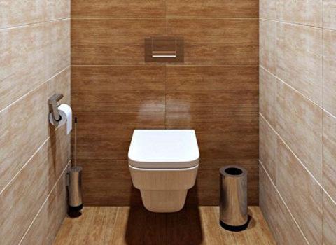 Отделка туалета в квартире: выбор материалов, идеи оформления, советы