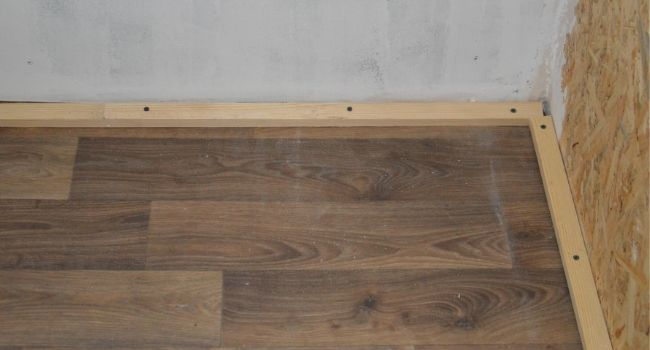 установка на деревянные покрытия