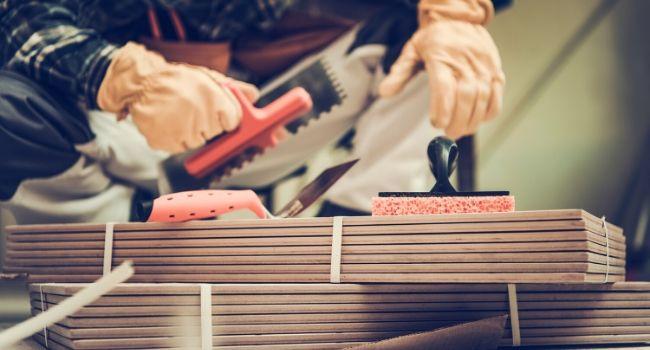 Подготовка плитки