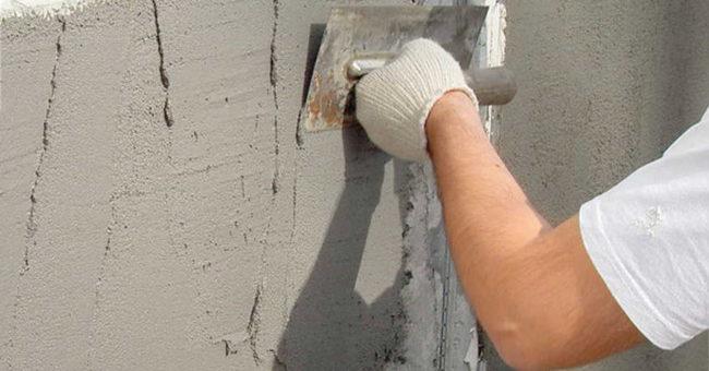 смесь для выравнивания стен