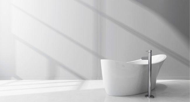 Дизайн ванной комнаты из оргстекла