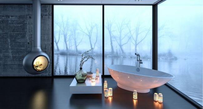 отделка ванны стеновыми панелями